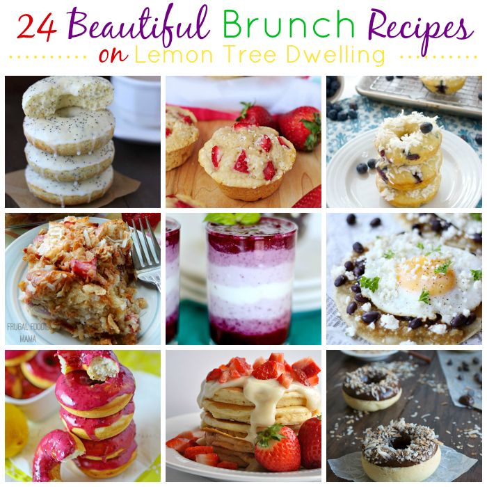 24 beautiful brunch recipes perfect for easter mother 39 s day or any day yummy round ups. Black Bedroom Furniture Sets. Home Design Ideas