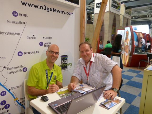 Indaba 2013 N3 Gateway Stand www.n3gateway.com/