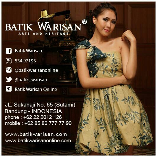 Off shoulder batik dress