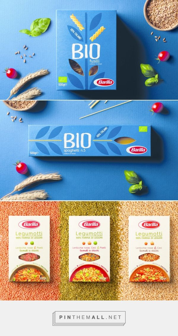 Barilla Bio & Legumotti ranges by FutureBrand. Source: FutureBrand.com. Pin curated by #SFields99 #packaging #design #inspiration #ideas #innovation #branding #product #food #pasta #healthy