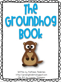 Free on TPT:  Informational book about groundhogs