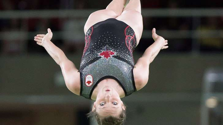 Canada's Rosie MacLennan wins gold medal in women's trampoline  On Friday afternoon, King City, Ont., native Rosie MacLennan won a gold medal in trampoline with a final score of 56.465.  The 27-year-old MacLennan won gold at London 2012 in the same event and was Canada's flagbearer in the opening ceremony at Rio 2016. Bryony Page of Great Britain finished second while China's Dan Li earned the bronze medal.