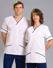 Fashionable dental and healthcare uniforms