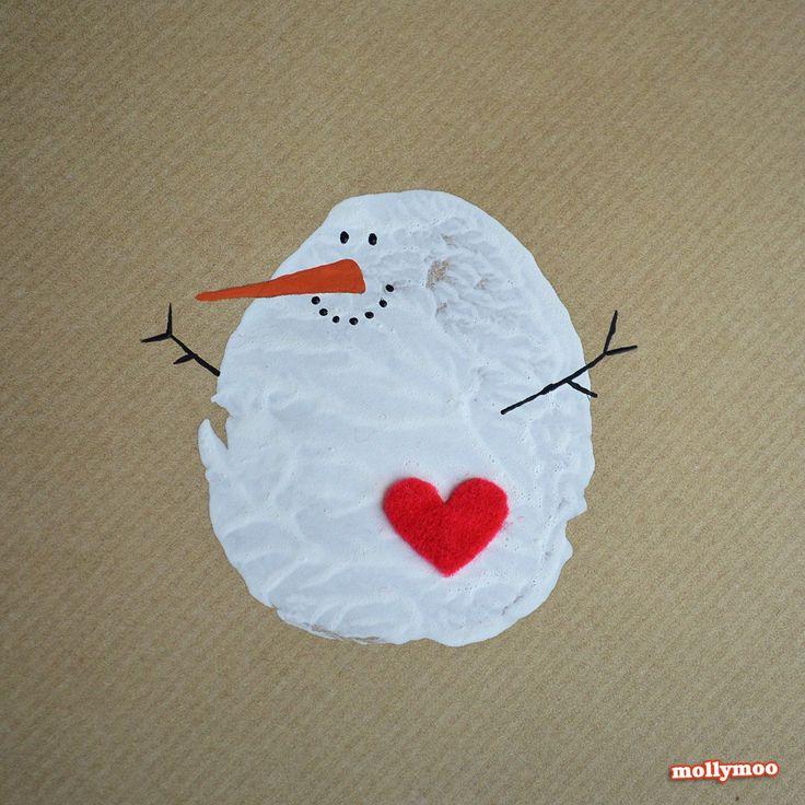 mollymoo.ie - DIY Christmas Cards, Potato Printing