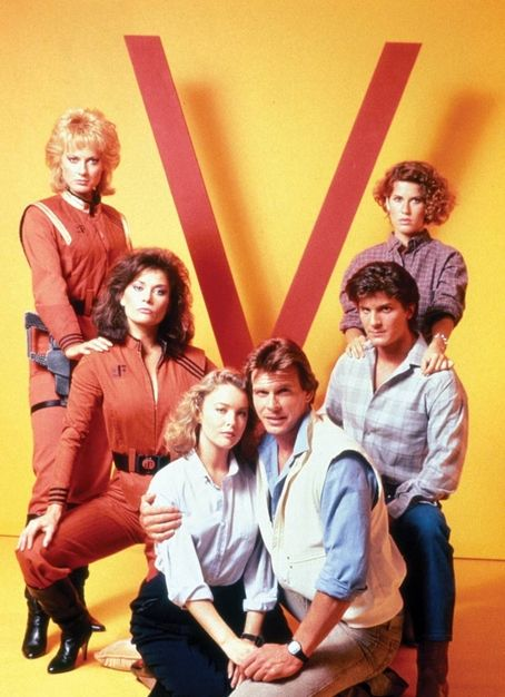 V 80's tv show... loved this show:) but had to watch it with my sister because I was scared, but I didn't let it show LOL