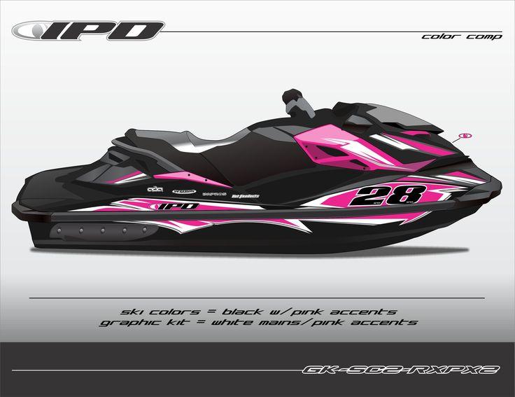 Sea-Doo RXP-X 260 & 300 Graphics Kit (SC2 Design) – IPD Jet Ski ...