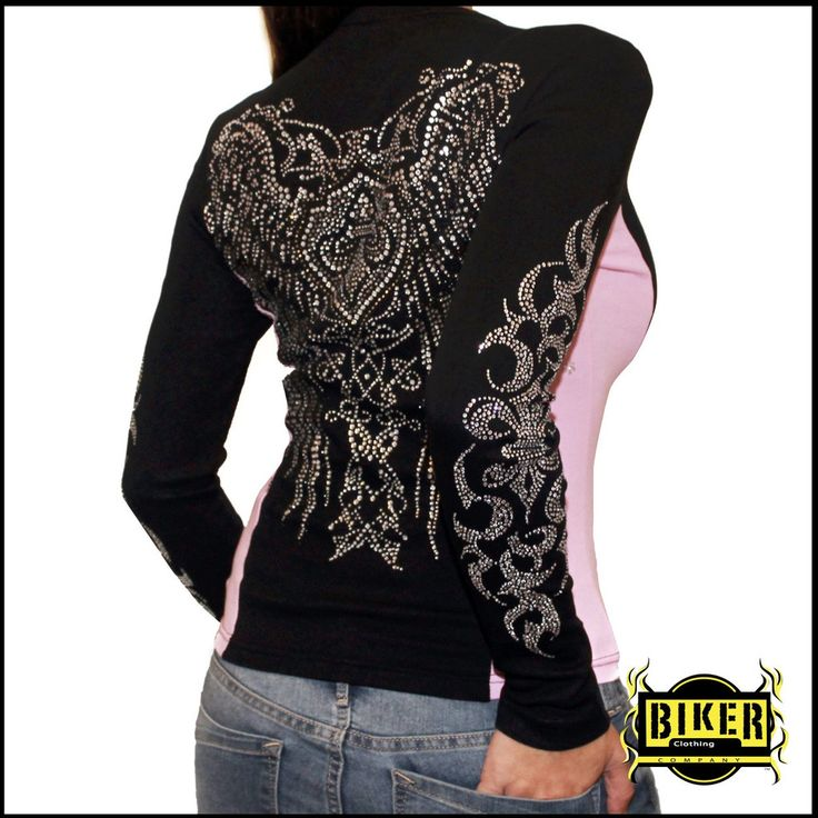 Two-Tone Long Sleeve Stone Top | Biker Clothing | Women's & Men's Motorcycle Apparel | Biker Clothing Company