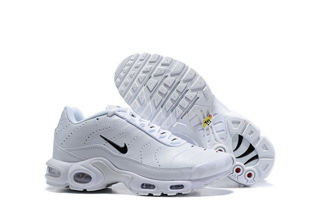 check out 4fc9e 06f9e Mens Winter Nike Air Max Plus TN Se Running Shoes White black 815994-100