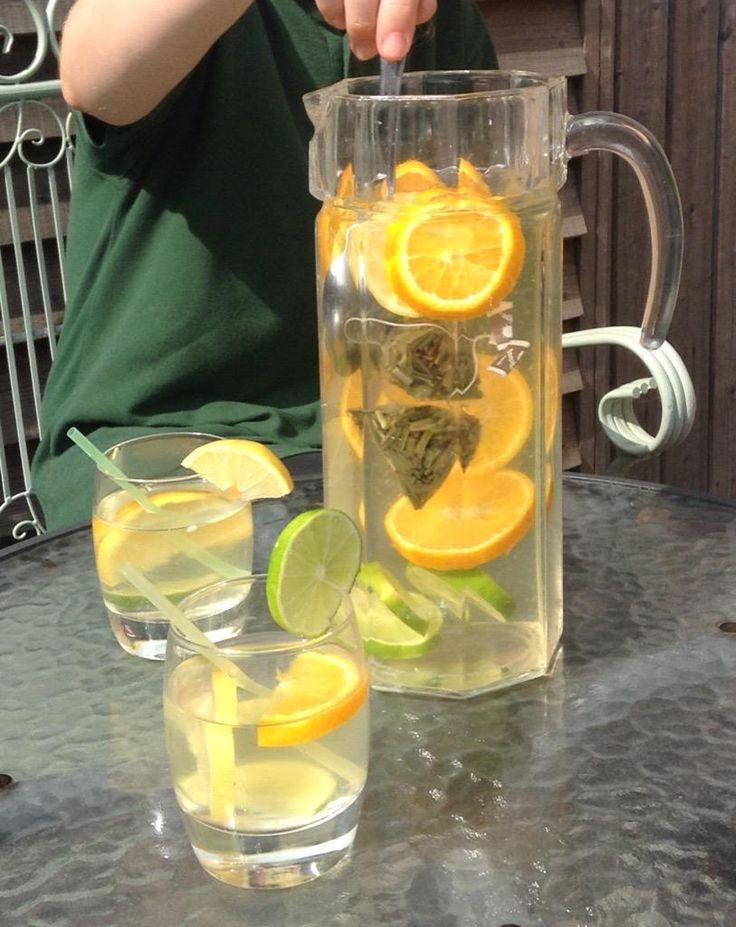 Enjoy the summer with an ice cold citrus tea! #teapigs
