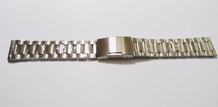 Edelstahl Schönes Uhrenarmband Uhr Armband Stainless-Steel Watch Bracelet 20 mm