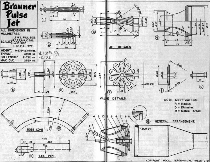 rc plane pulse jet dimensions - Google zoeken | jet engine ...