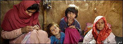 Information about Afghanistan Refugees near Mazar-e-Sharif, Afghanistan
