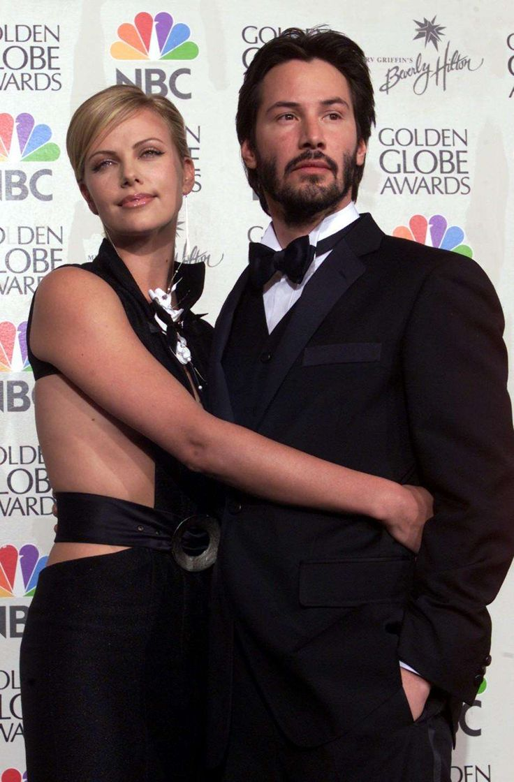Cherliz Theron with Keanu Reeves | Charlize Theron in 2019 ...