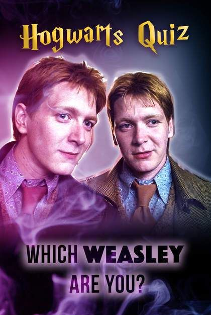 Hogwarts Quiz: Which Weasley Are You? | Harry potter quizzes