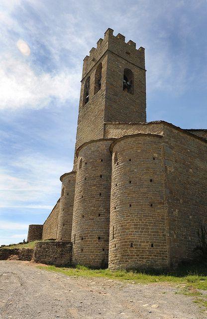 El Gobierno de Aragón restaura  el conjunto fortificado de Muro de Roda en la Fueva Huesca   Spain