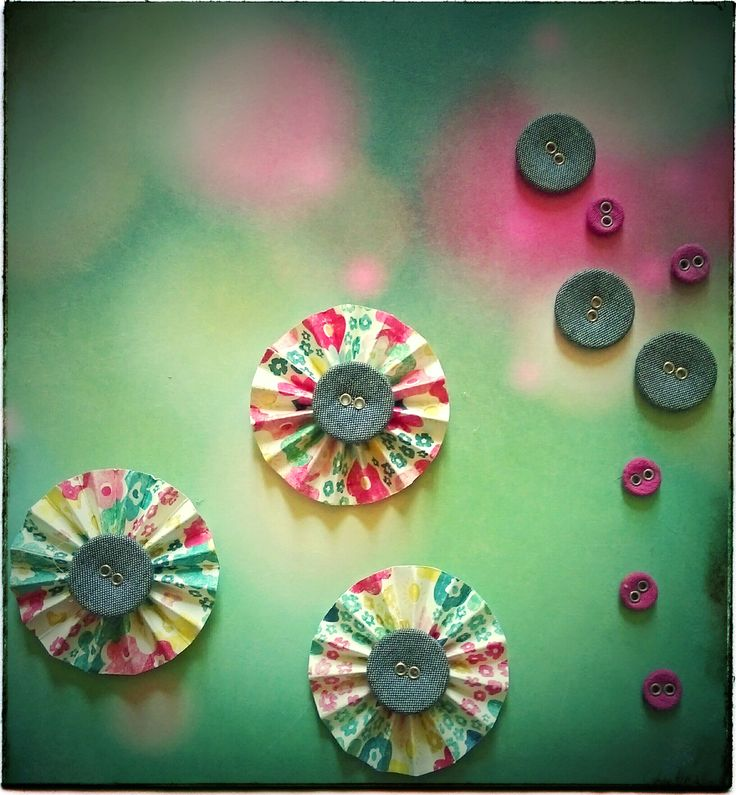 Paper Rosettes  Paper Rosettes is most easy form of paper flowers... Step by Step tutorial to create these flower visit the website