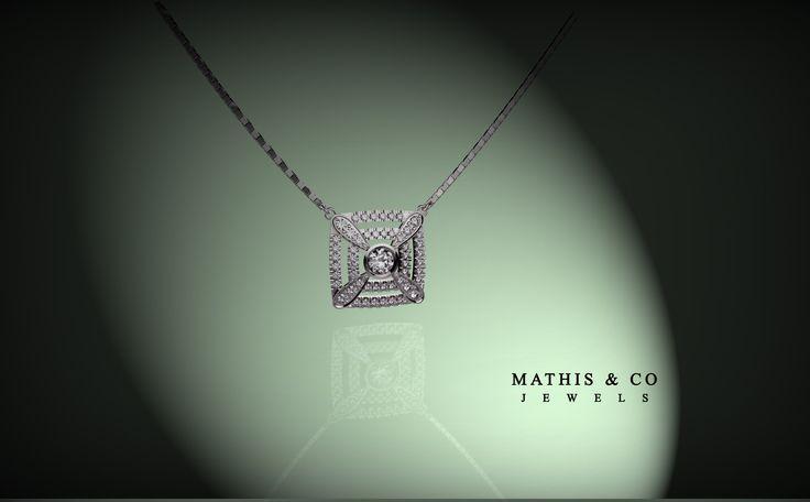 Pendant 18kt gold and diamonds