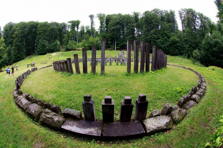 Sarmisegetuza Regia- capital of ancient Dacia  (now located in Hunedoara county, Romania). A place with historical importance for Romanians.