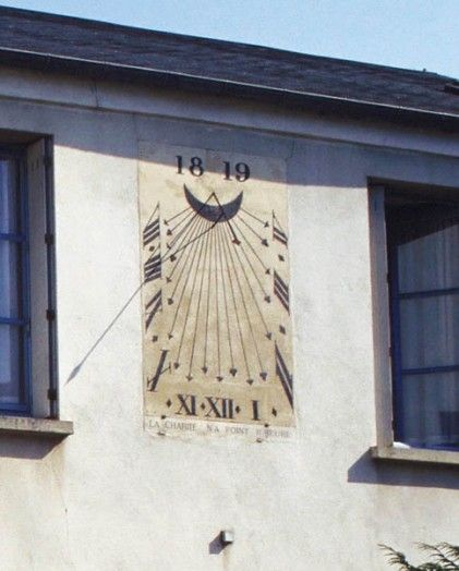 Cadran solaire, Arpajon, Essonne, France