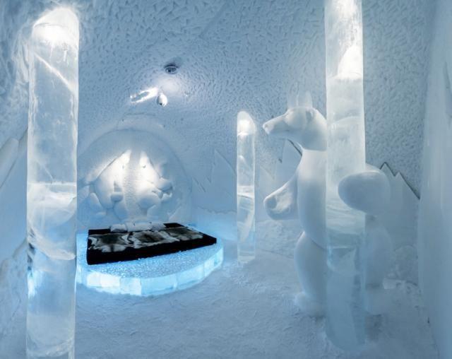 les 25 meilleures id es de la cat gorie h tel de glace en su de sur pinterest h tel de glace. Black Bedroom Furniture Sets. Home Design Ideas