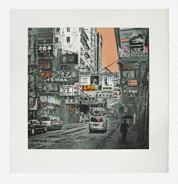 Nick Walker - TMA Hong Kong Basking In The Glory Signed Print