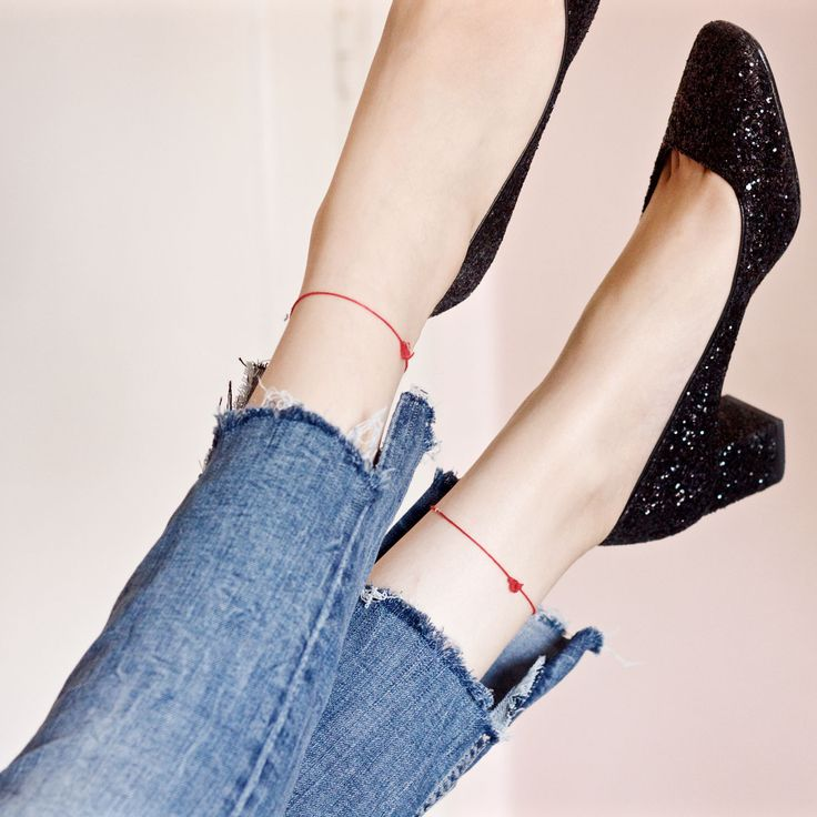 Transform your old jeans into something cool #DIY #shoes