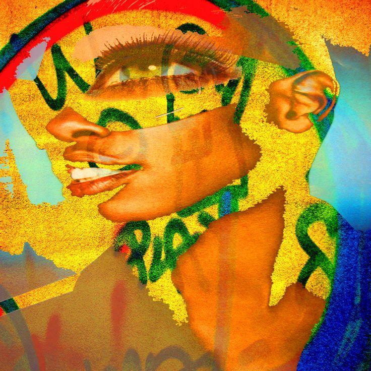 Maurea. Quando la sera raffredda il giallo fiume e il palazzo di Zimbabwe si accende d'un bagliore accecante il grande re ha paura di sognare  ( Opera Femme 023 di Giuseppe Piccione . Testo Marco Goracci )