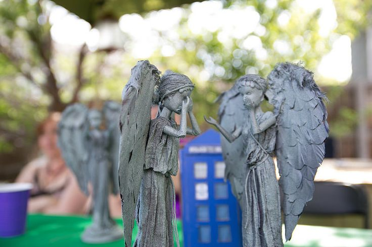 Weeping Angel Barbies How to turn Barbies into Doctor Who Weeping Angels