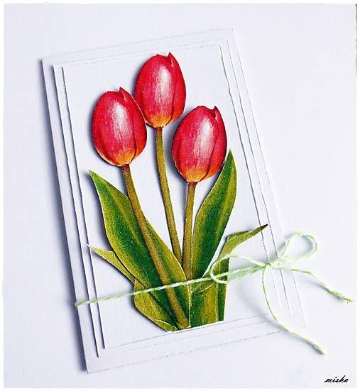 misha_cards / Tulipány