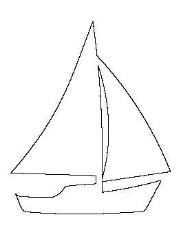 Sailboat Pattern