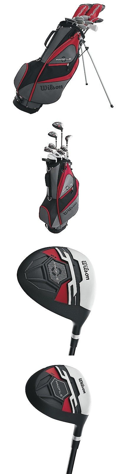 Golf Clubs 50127: Wilson Profile Xd Men S Rh Flex Graphite Steel Golf Club Stand Bag Package Set -> BUY IT NOW ONLY: $299.99 on eBay!