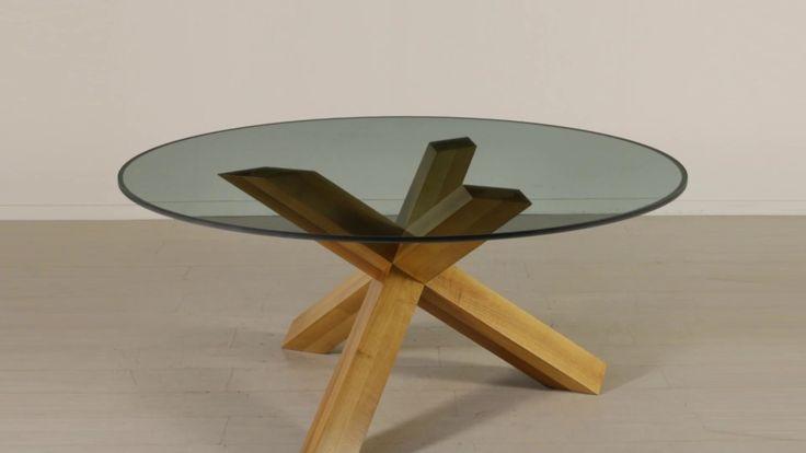 """Tavolo """"La Rotonda"""" designer Mario Bellini, produzione Cassina. Codice MODTAV0000919 Maggiori info: http://bit.ly/2hr7CZj"""