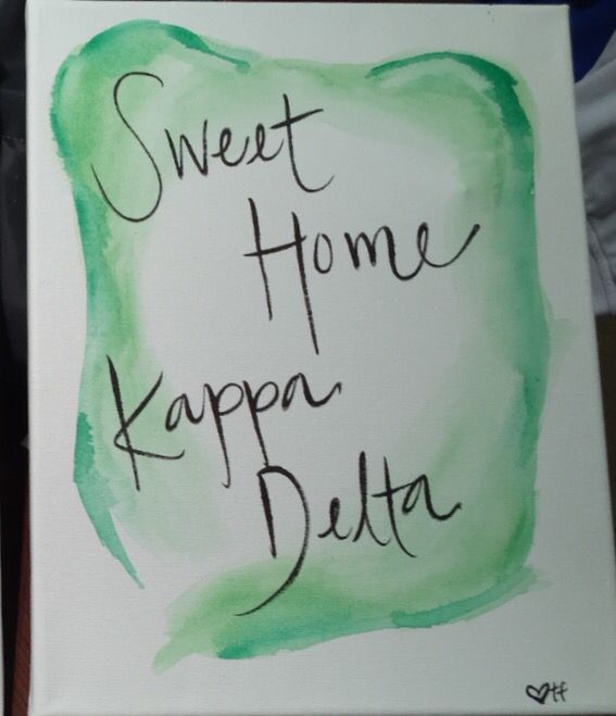 sweet home kappa delta