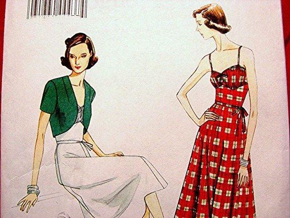15 besten Vintage dress patterns! Bilder auf Pinterest | Vintage ...