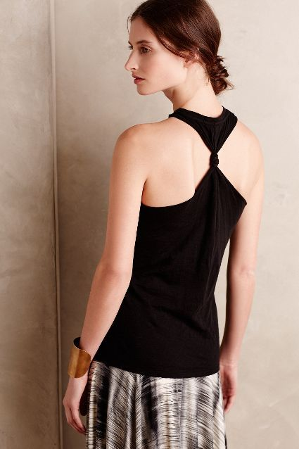 Jersey Twist-Back Tank - anthropologie.com #anthrofave