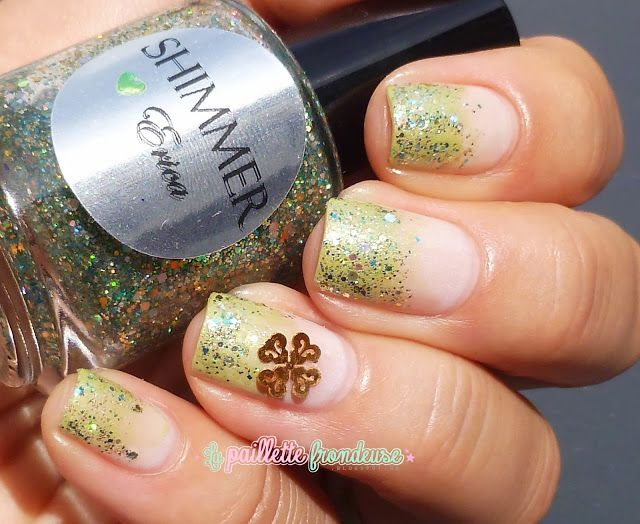 Shimmer Polish Erica // The lucky nail