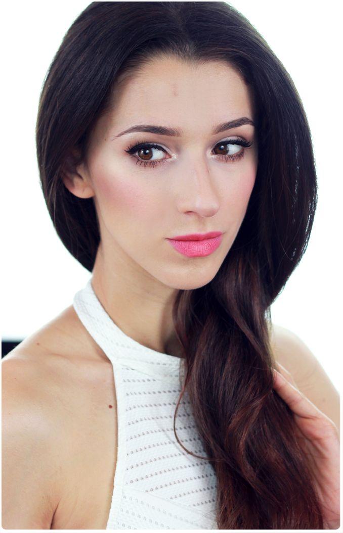 Alina Rose Makeup Blog: Makijaż dzienny przed i po, Cocoa Blend.