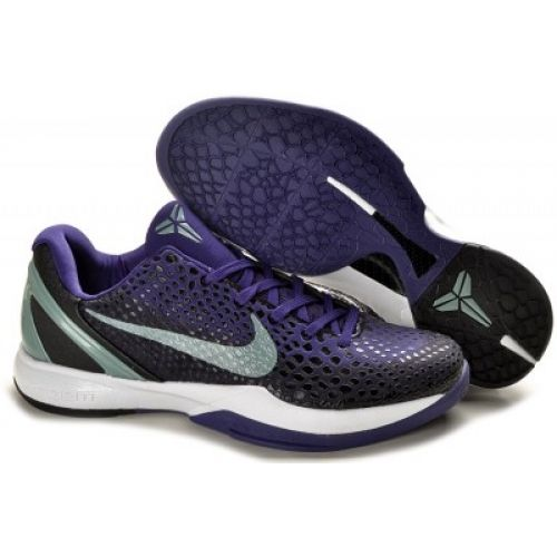 Nike Zoom Kobe VI 6 Basketball shoes Gradient Blue/Black Whitenike running shoes flyknitcatalogo