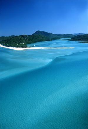 Whitehaven Island, the Whitsundays, Queensland, Australia