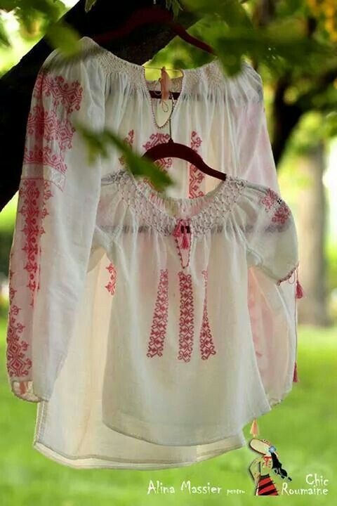 IA, La blouse romaine, the Romanian traditional blouse, Romania