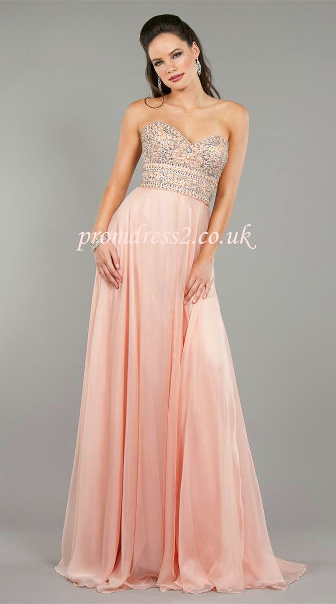 Sleeveless Sequins Prom Dress