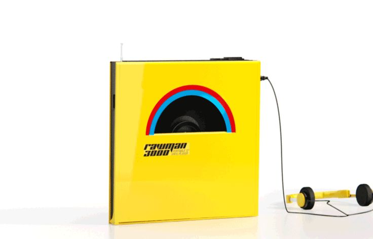 Rawman 3000 Portable Vinyl Player
