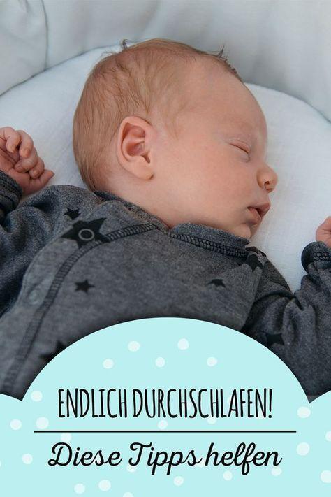 So lernt dein Baby das Durchschlafen