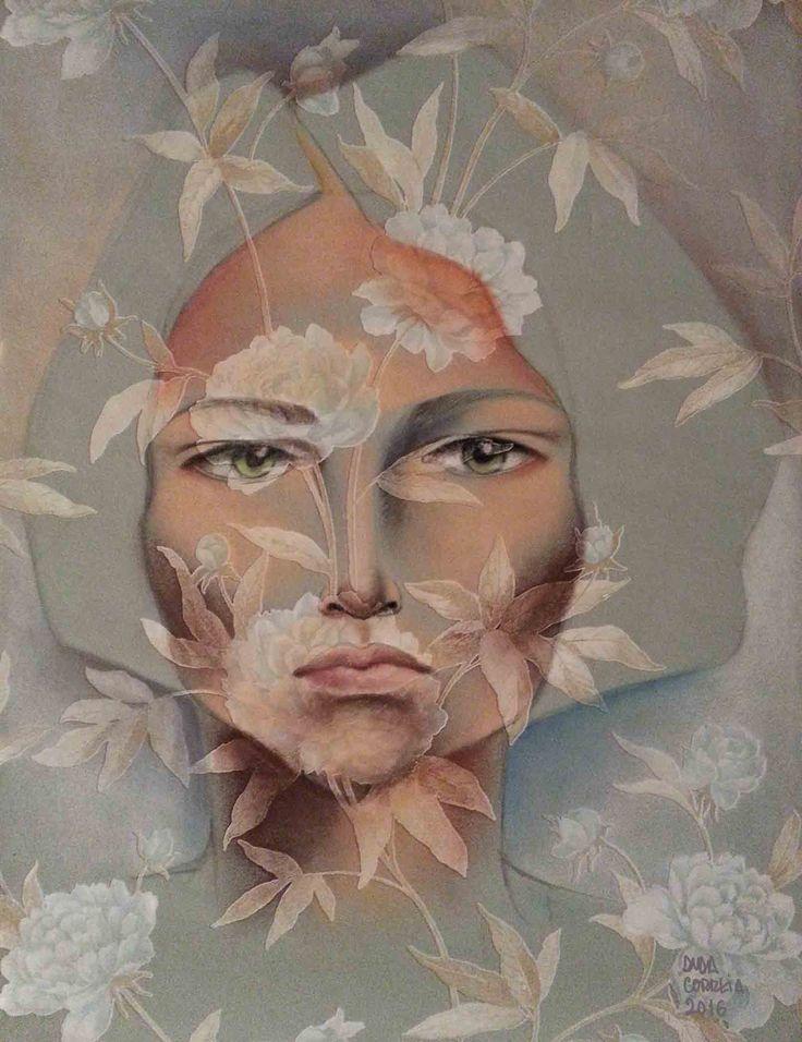 Pastel seco sobre papel  50x60 by Duda Correia