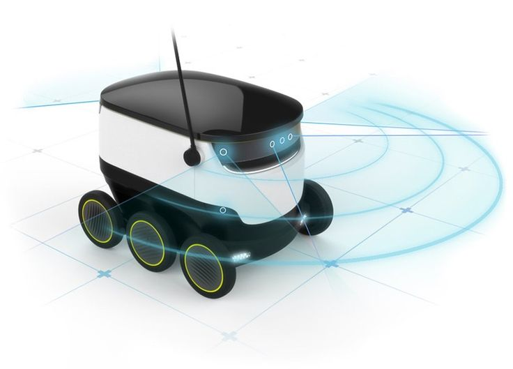 starship technologies plans to bring a fleet of delivery drones to the streets
