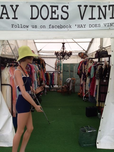 Welcome to our on site shop.  Hay Does Vintage, Hay-on-Wye