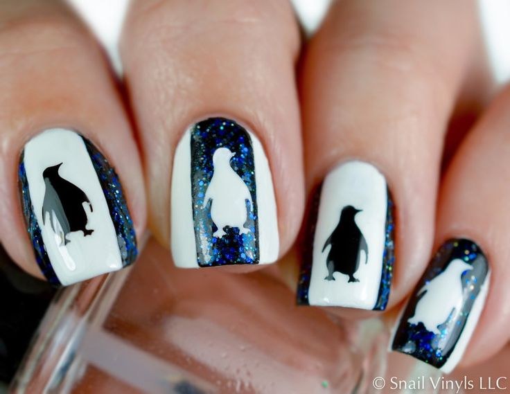 Penguin Nail Decals are the perfect addition for your winter manicure! Penguin Nail Decals can also be used as a Penguin Nail Stencil! 30 Penguin Decals in all. Video Created and Provided by SprinkleN