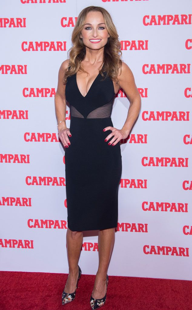 Giada De Laurentiis from The Big Picture: Today's Hot Pics  The Food Network star strikes a pose at the Campari Calendar 2016 Launch at The Standard Hotel in NYC.