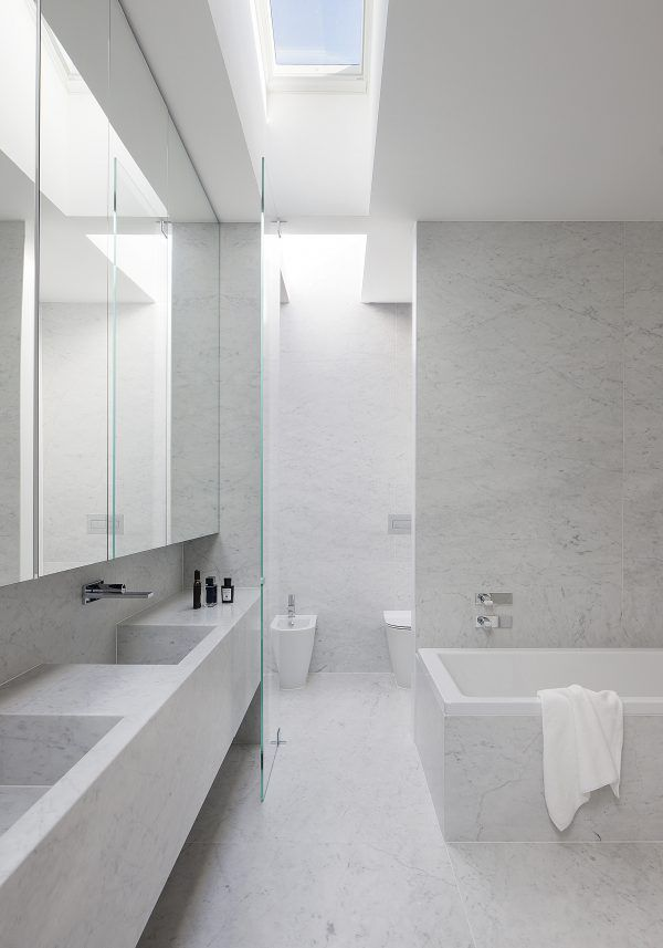 modern marble bathroom - rogerseller