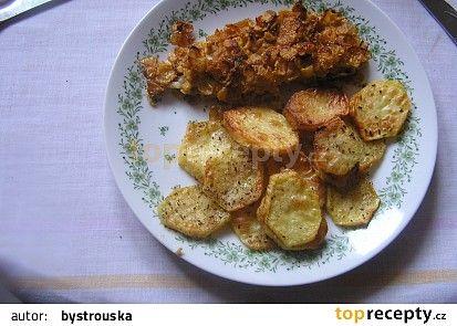 Ryba z trouby- na talíři